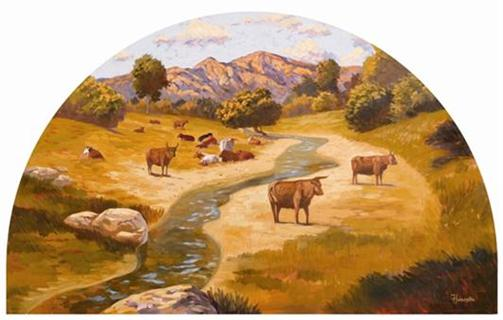 Raising of Cattle From the Rancho Period